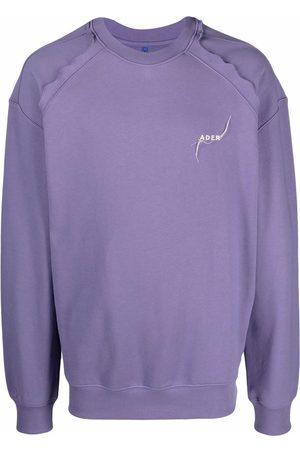 Ader Error Kaput embroidered logo cotton sweatshirt