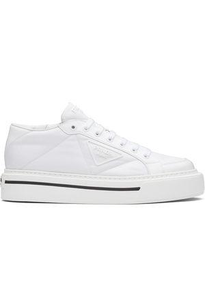 Prada Men Sneakers - Macro brushed sneakers