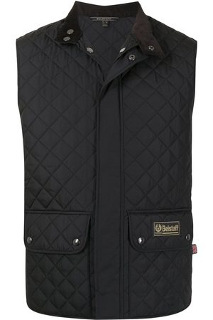 Belstaff Quilted logo-patch gilet