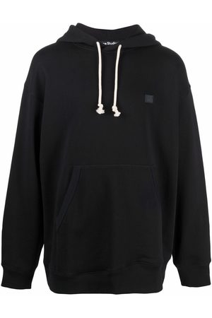 Acne Studios Hoodies - Face patch oversized hoodie