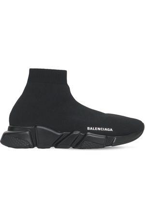 Balenciaga 30mm Knit Slip-on Sneakers
