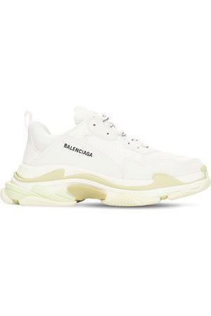 Balenciaga Men Sneakers - Triple S Tech & Mesh Sneakers