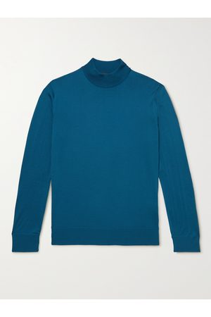 Loro Piana Men Jumpers - Slim-Fit Wish Virgin Wool Rollneck Sweater
