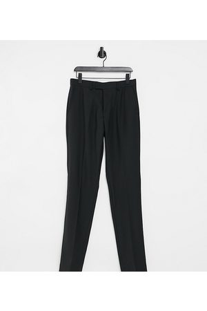 French Connection Men Slim Trousers - Tall slim fit plain suit trousers