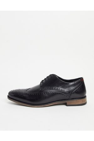 River Island Leather brogue in back