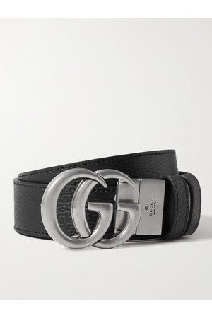 Gucci Men Belts - 3.5cm Reversible Full-Grain Leather Belt