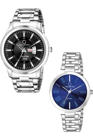 Carlington Unisex Set Of 2 His & Her Analogue Watches