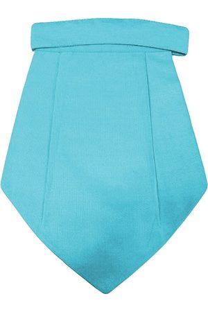 Blacksmith Men Turquoise Blue Woven Design Cravat