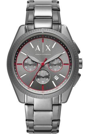 Armani Men Gunmetal-Toned Chronograph Watch AX2851