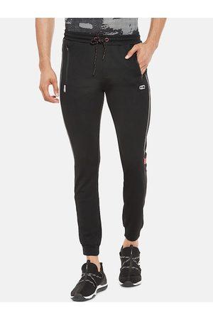 Pantaloons Men Navy Blue Solid Slim Fit Joggers