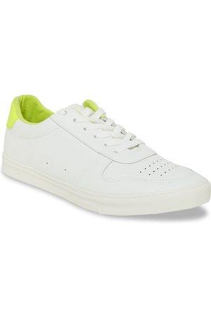 Pantaloons Men White Perforation Sneakers