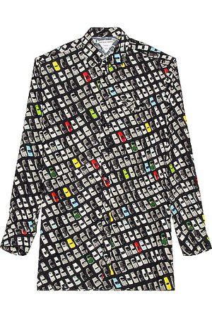 Bottega Veneta Photographic Car Print Shirt in Multi