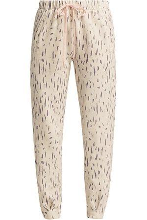 The Upside Bruna Leopard-Print Track Pants