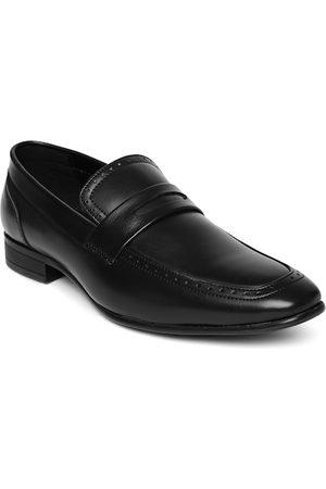 San Frissco Men Footwear - Men Black Slip-On Semiformal Shoes