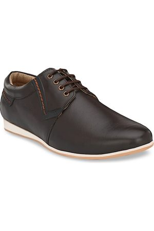 San Frissco Men Formal Shoes - Men Brown Derbys