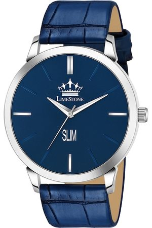 MONTVITTON Men Blue Analogue Watch