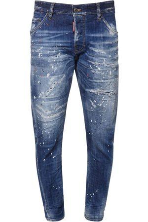 Dsquared2 16.5cm Sexy Twist Cotton Denim Jeans