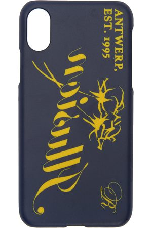 Raf Simons Navy 'Illusion' iPhone X Case