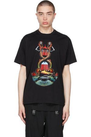 Burberry Oversized Mermaid Print T-Shirt