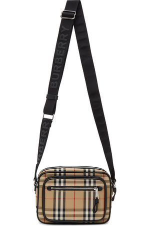 Burberry Beige Vintage Check Paddy Bag