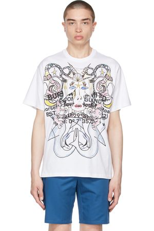 Burberry Oversized Montage Print T-Shirt
