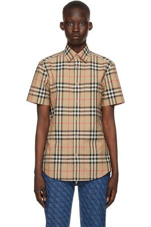 Burberry Check Caxton Short Sleeve Shirt