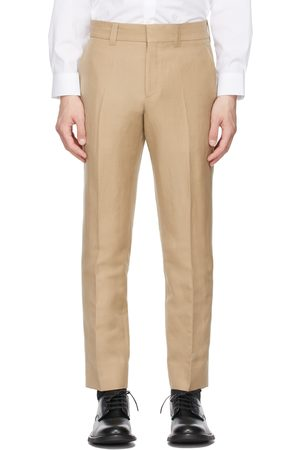 Burberry Beige Cropped Tailored Trousers