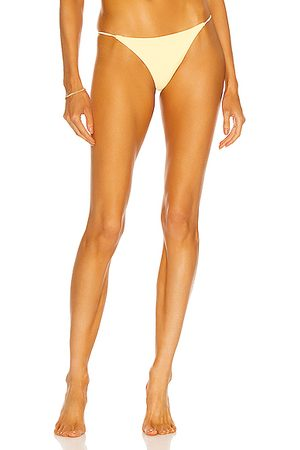 Jade Swim Bare Minimum Bikini Bottom in Sorbet