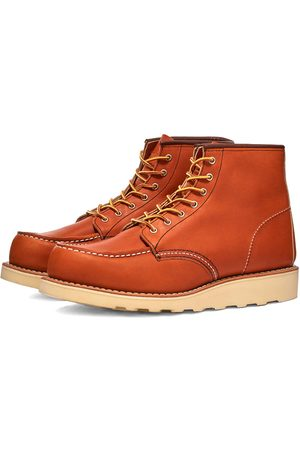 "Red Wing Men Boots - Women's 3375 Heritage 6"" Moc Toe Boot"