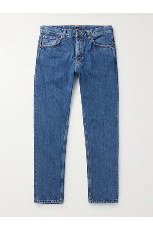 Nudie Jeans Men Straight - Steady Eddie II Organic Denim Jeans