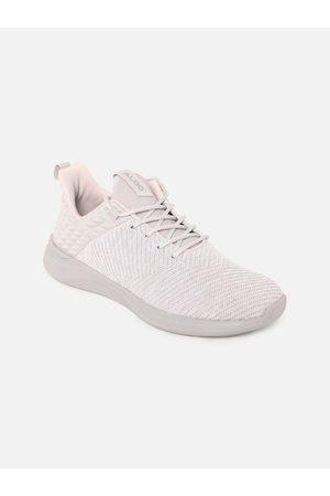 Aldo Women White Woven Design Sneakers Casual Shoes