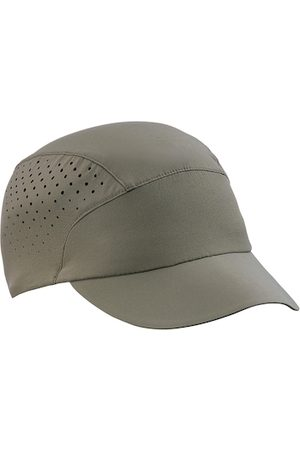 FORCLAZ By Decathlon Men Olive Green Solid Trekking Baseball Cap with Cut-Out Detail