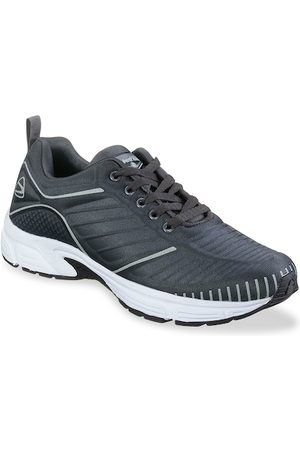 Duke Men Grey Running Shoes