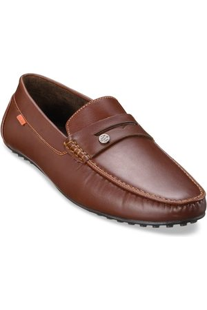 Duke Men Tan Brown Synthetic Loafers Casual Shoes