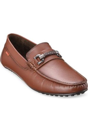 Duke Men Tan Brown Synthetic Driving Shoes