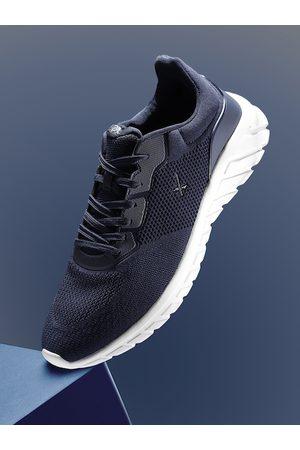 HRX Men Navy Blue Alpha Running Shoes