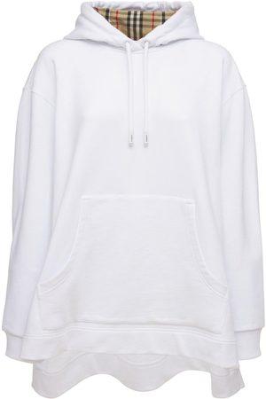 Burberry Aurore Cotton Jersey Sweatshirt Hoodie