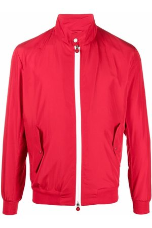 Kiton Men Sports Jackets - Zip-up windbreaker jacket