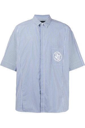 JUUN.J Men Short sleeves - Striped short-sleeved shirt