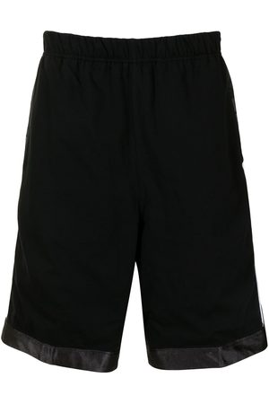 AAPE BY A BATHING APE Side-logo reversible track shorts