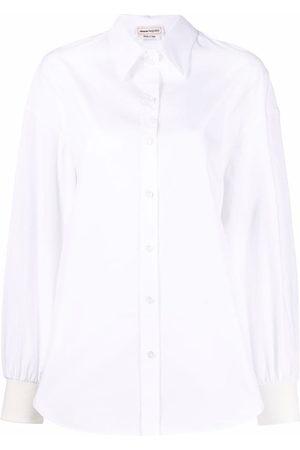 Alexander McQueen Button-up long-sleeve shirt