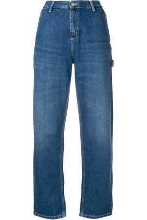 Carhartt Logo patch straight jeans
