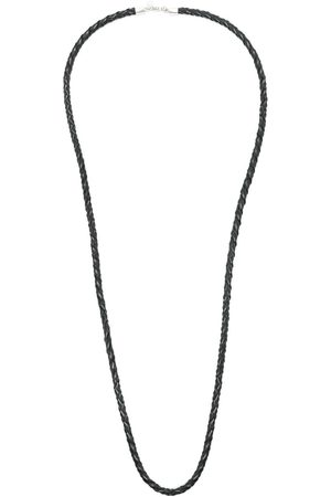 AMIR SLAMA Men Necklaces - X Julio Okubo woven leather necklace