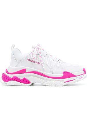 Balenciaga Men Sneakers - Triple S low-top sneakers