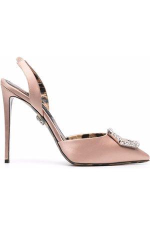 Philipp Plein Women Pumps - Slingback high-heeled pumps