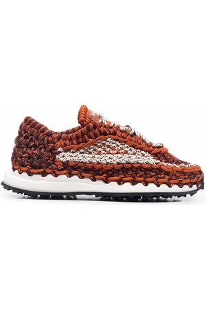 VALENTINO GARAVANI Men Sneakers - Crochet low-top sneakers