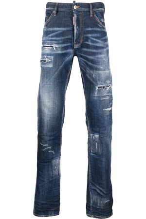 Dsquared2 Men Bootcut & Flares - Distressed bootcut jeans