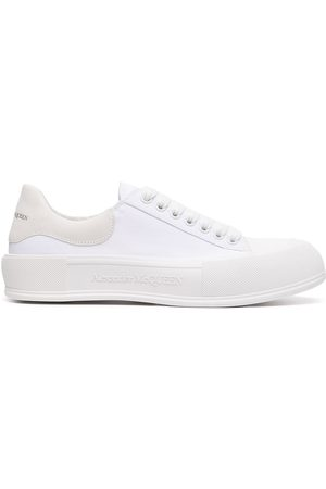 Alexander McQueen Men Sneakers - Deck low-top sneakers