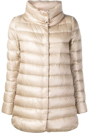 HERNO Women Parkas - Straight-fit padded coat