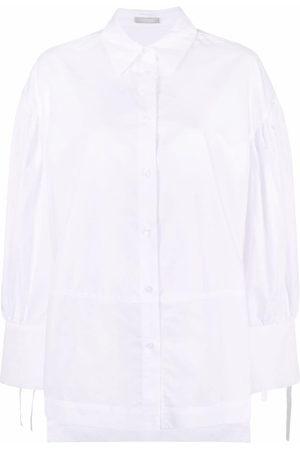 12 STOREEZ Cotton tied-cuff shirt